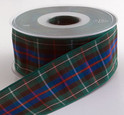 Authentic Clan Rose Tartan Plaid Ribbon, 25 yards, choice of 5 widths