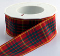 Authentic Clan Cameron Tartan Plaid Ribbon, 25 yards, choice of 4 widths