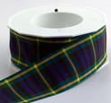 Authentic Clan Gordon Tartan Plaid Ribbon, 25 yards, choice of 4 widths
