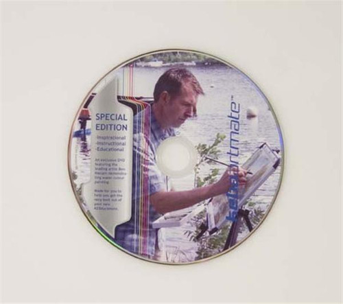Instructional DVD featuring Artist Ben Haslam BA