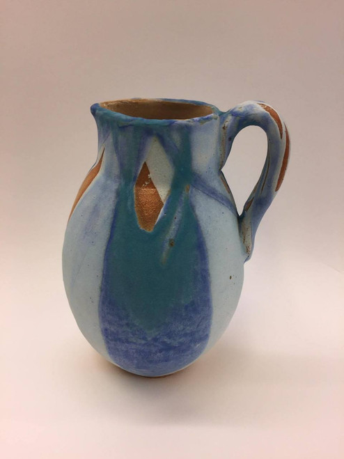 Seascape Curled Handle Jug sold