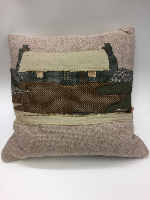 Wool and Tweed Cushion