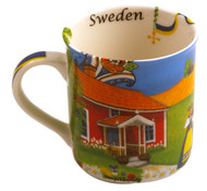 Coffee Mug Red Cabin (Sweden)