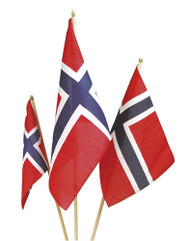 Handheld Norwegian Flag