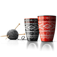 Menu, Nordic Wool Termo Cup, black and red