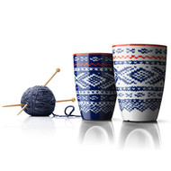 Menu Nordic Wool Termo Cup, blue and white