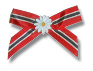 Ribbon with flower pin