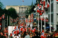 17th of May Parade in Oslo w/The Royal Castle