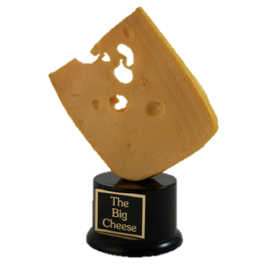 This Far Out Cheese Trophy
