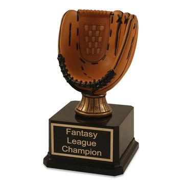 Mini Baseball Glove Trophy