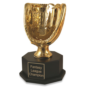 Fantasy Baseball Gold Glove Triumph Trophy