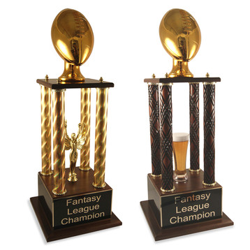 Golden Football Prestige Fantasy Football Trophy