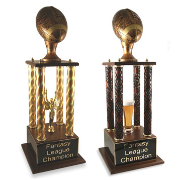 Antique Prestige Fantasy Football Trophy