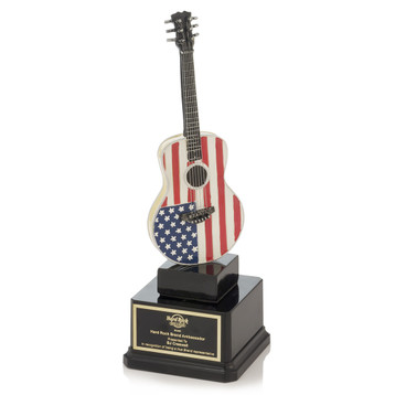 American Flag Guitar Award