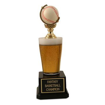 Jr. Beer Pilsner Baseball Trophy