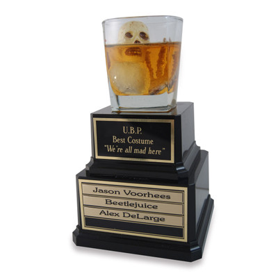 Image 1  sc 1 st  Far Out Awards & Perpetual Halloween Scotch Trophy - Far Out Awards
