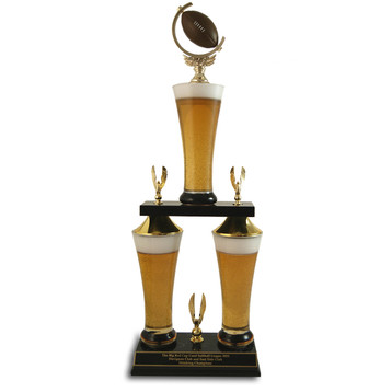 Fantasy Football Beer Trophy