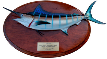 Blue Marlin Trophy Fish Mount