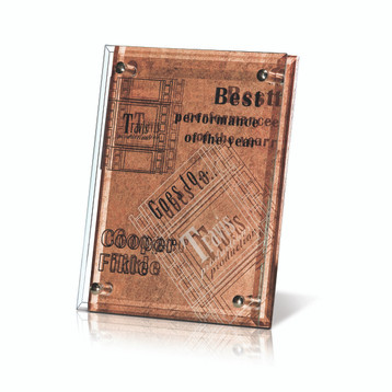 Arabesque Copper Plaque