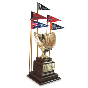Golden Glove Baseball Trophy