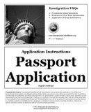 Passport Application Instructions