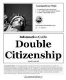 US Double Citizenship Information