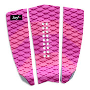 Pink Tail Pad Deck Grip