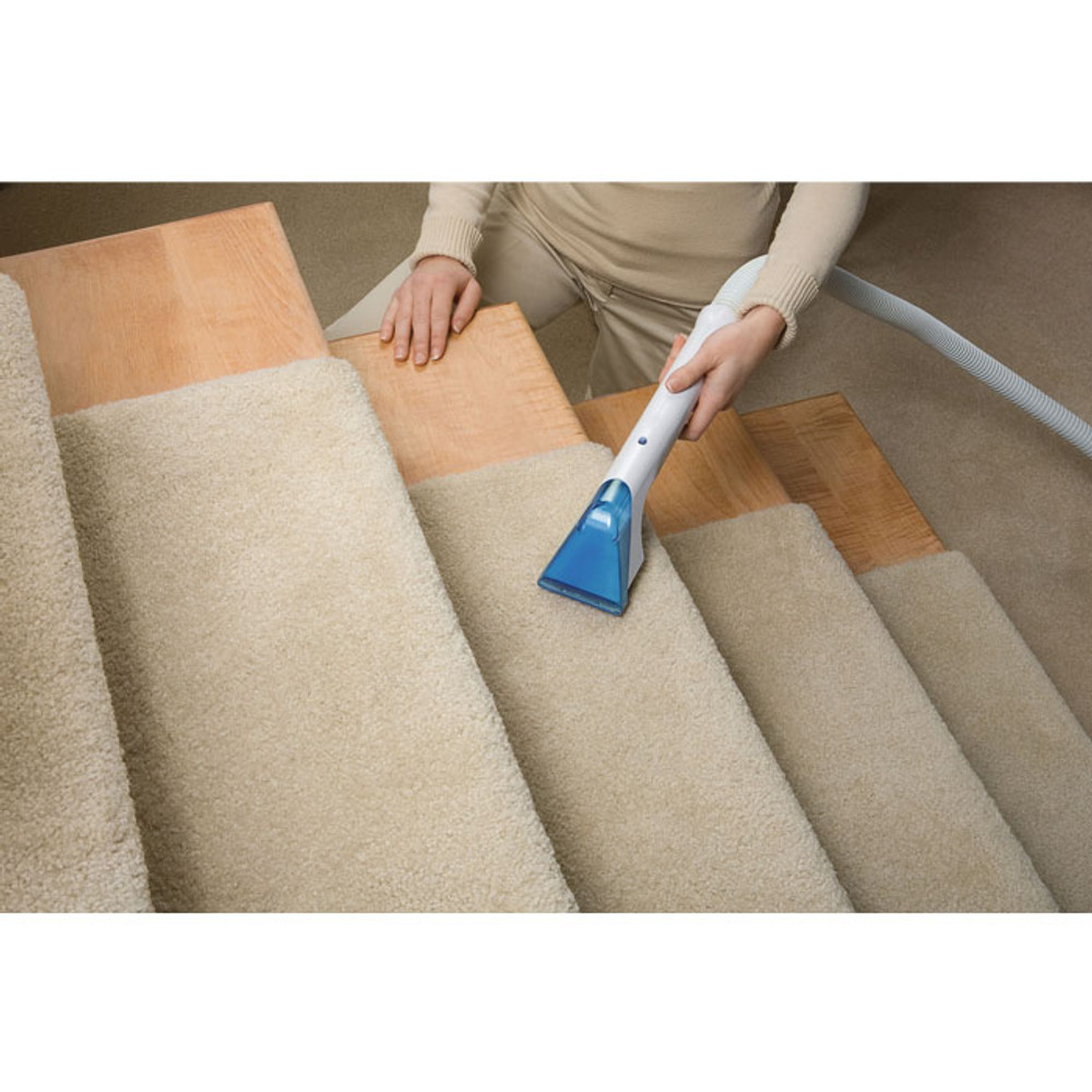 Hoover Spot Scrubber is ideal for stair and upholstery cleaning