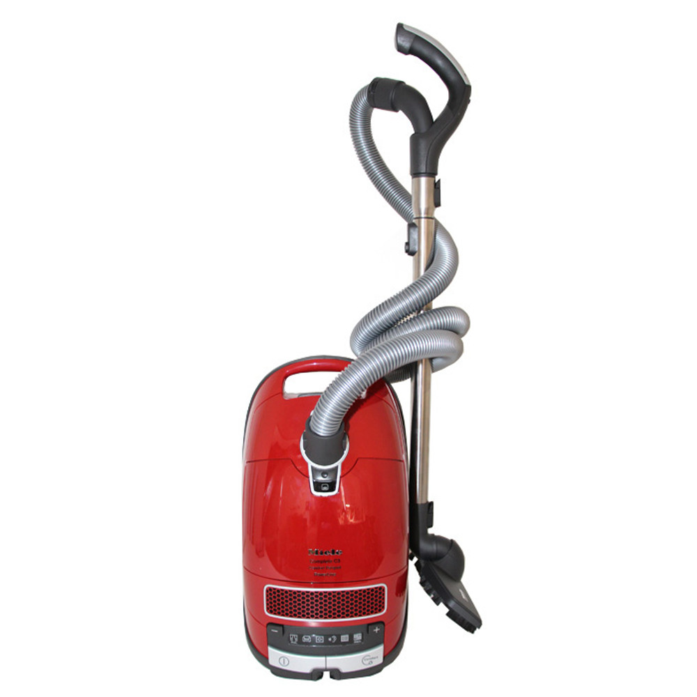 Bare floor brush connects to side of the vacuum for easy storage.