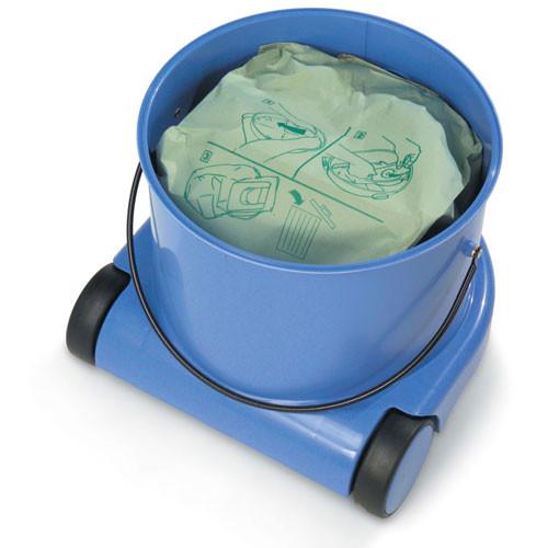 Bag or bagless operation.