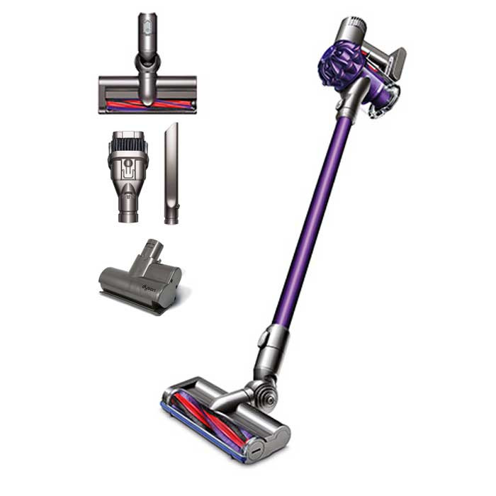 buy dyson v6 plus cordless vacuum from canada at. Black Bedroom Furniture Sets. Home Design Ideas