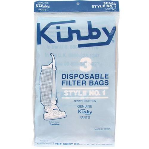 Buy Kirby Type 1 Vacuum Cleaner Bags 3pk From Canada At