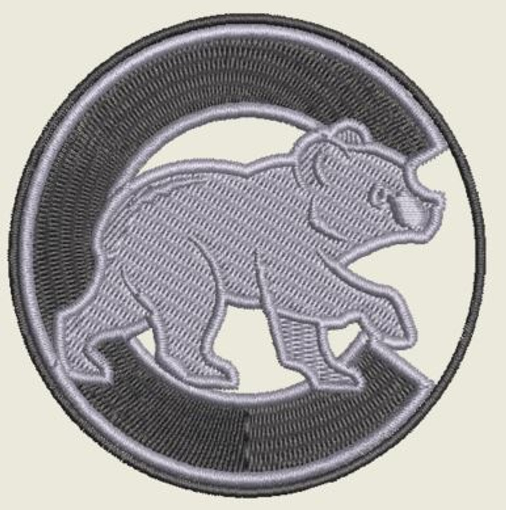 Chicago Cubs Sub Swat Velcro Patch