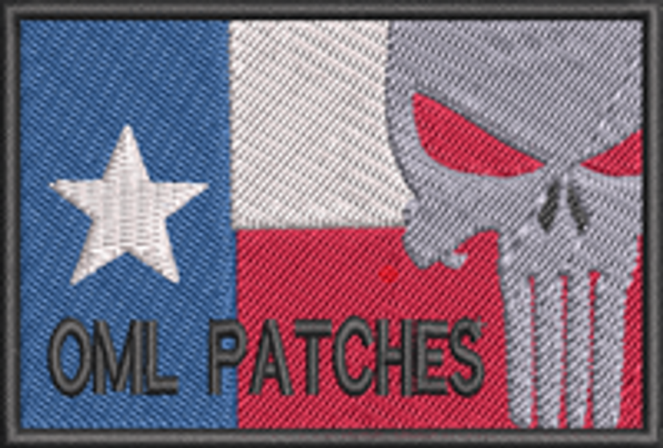 More custom embroidered flag patches