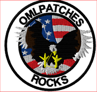 custom team patch combating terrorism