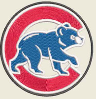 Chicago Cubs Full Color morale patch