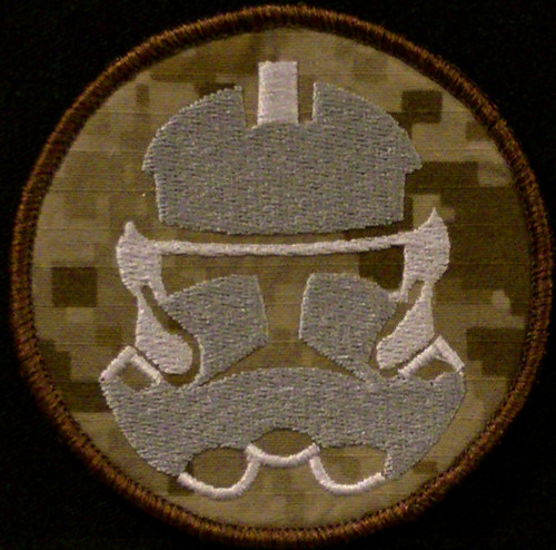 storm trooper VELCRO® Brand morale patch