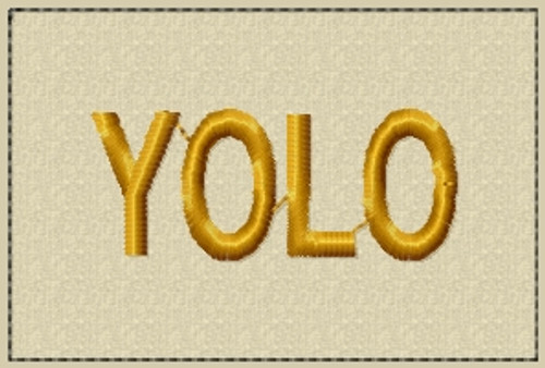 YOLO plain text patch