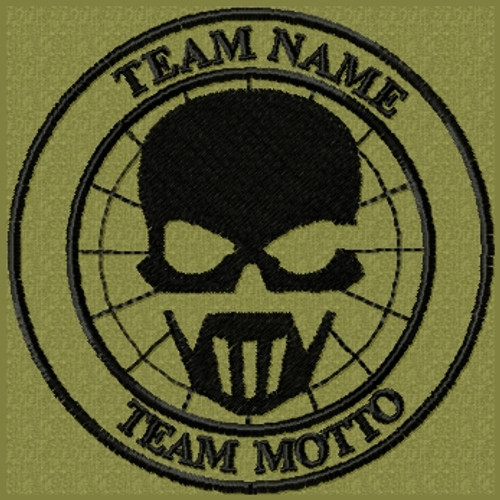 Custom Team Template Patch Ghost Recon