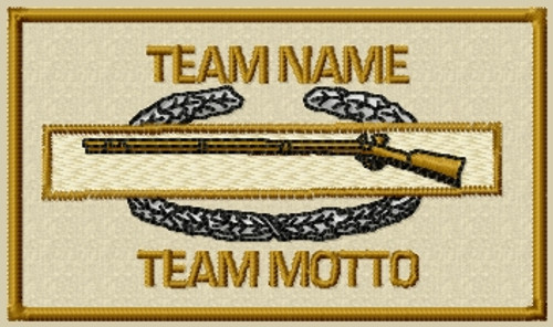 Custom team infantry patch