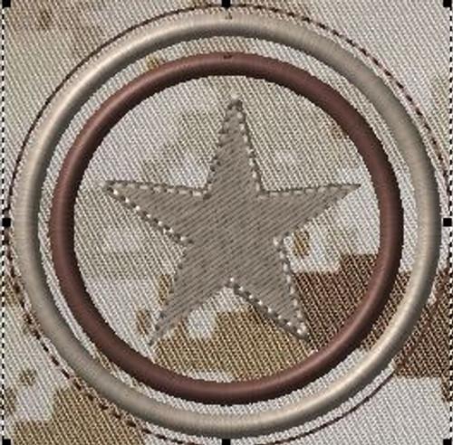 capt america's shield VELCRO® Brand patch