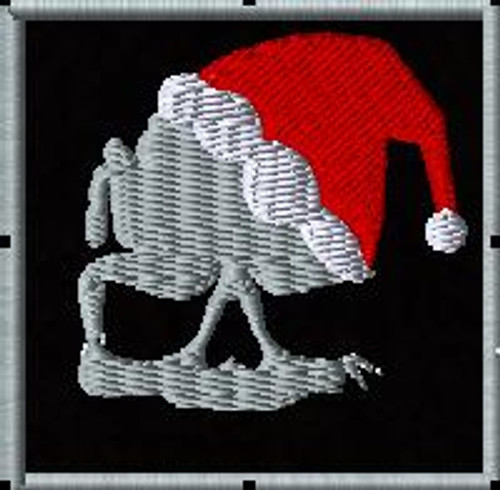 COD christmas skull patch