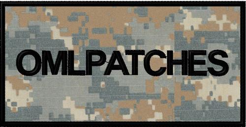 custom 3x6 nametape or smaller full back patch in market