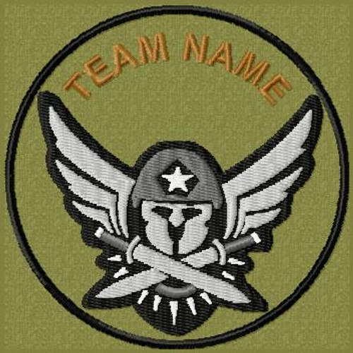 Team Template Molon Labe Air VELCRO® Brand patch