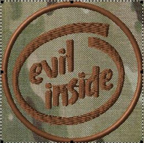 Evil Inside Morale Patch