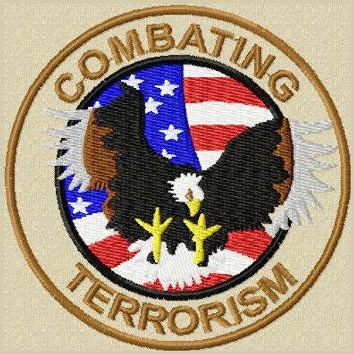 Combating Terrorism Custom patch