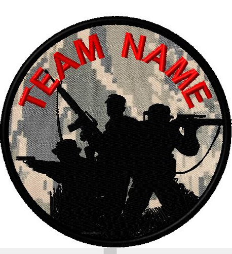 team patch soliders ABU backgrond