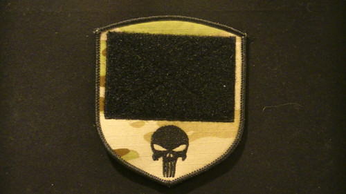 PiP patch with loop VELCRO® Brand and punisher logo