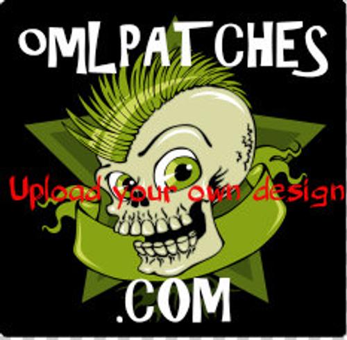 Custom 2D PVC Vinyl patches