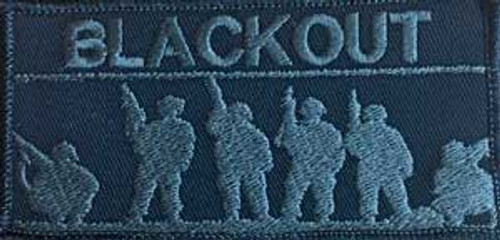Blackout Band of Brothers custom Velcro team patch